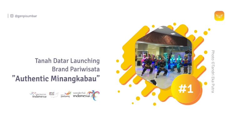 "Photo of Tanah Datar Launching Brand Pariwisata ""Authentic Minangkabau"""