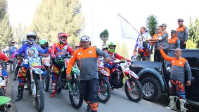 Photo of Danrem 032 Wirabraja lepas Etape 3 Minang Trail Adventure